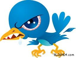 twitter bird angry 10 Reasons to have a Twitter