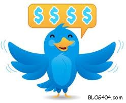 earn from twitter bird