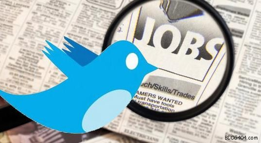 twitter jobs cool logo bird newspaper resume interviews List of best Apps to search for JOBS on Twitter