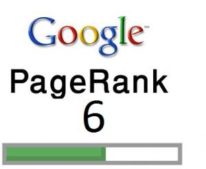 page rank 6 six google updatel ogo pic images badge blog wordpress 300x246 Whoopee ! BLOG404 is now PR 6 !