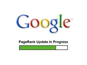 google pagerank update in progress green Tutorial : How to get your Blog lose PageRank