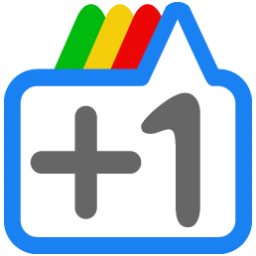 google plus cute vector plus one 1 icon colorful rainful cool  Its Time to Grab your GooglePlus Profile vanity URL !