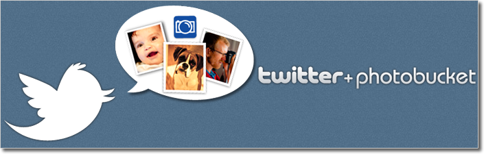 twitter photobucket acquire combination powered logo Now Upload Images on Twitter , thanks to PhotoBucket