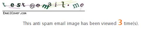 emailcover.com test screenshot protect email id 5 Free Tools to Share and Protect your Email Address Online