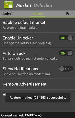 market unlocker successful change settings screenshot usa proxy pro download link How to Unlock Paid and Restricted Android and Amazon apps unavailable in your country