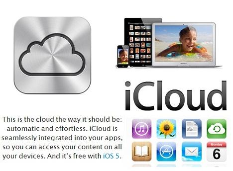 apple icloud logo iphone ipad itunes sync pros cons cloud logo Google Drive VS SkyDrive VS DropBox VS iCloud