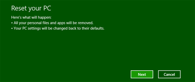 reset pc pc settings windows 8 apps files 10 SOLID reasons to Upgrade to WINDOWS 8