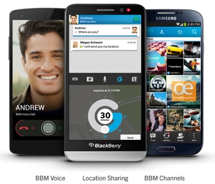 aaa Get BBM 2.0 for Android and iPhones